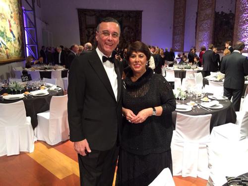 Dr.Acuña Priano y Dra.Araceli Morales