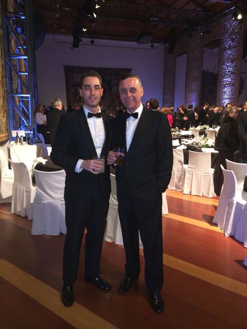 Dr.Acuña Priano y su hijo Pablo